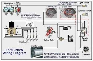 1949 Ford 8n Tractor Wiring Diagram To 12 Volt Conversion