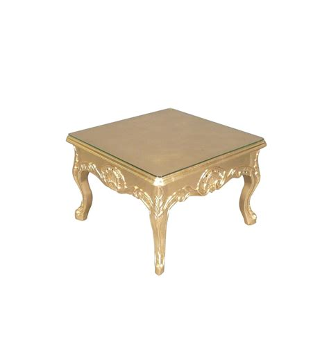 Table Basse Coffee Table Baroque Gold
