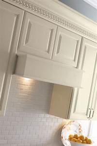Wood Hood Canopy Square Kemper Cabinetry