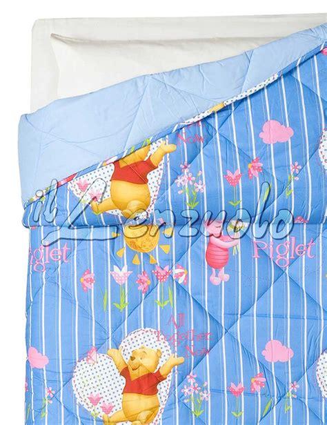 piumone winnie the pooh trapunta singola winnie the pooh