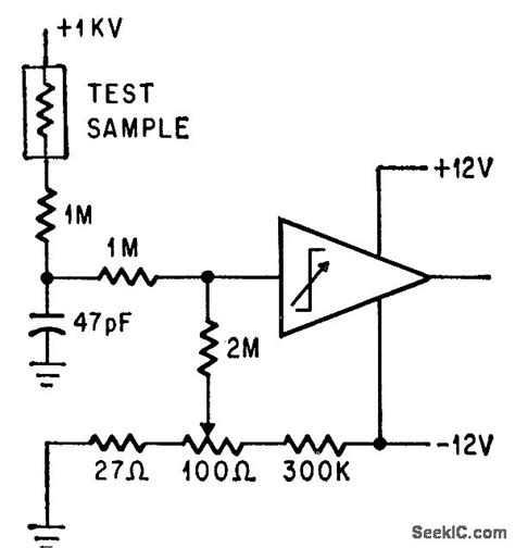hi pot tester control circuit circuit diagram seekic