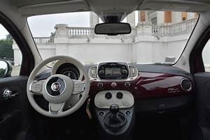 Fiat 500 Interieur : photo 500 twinair 105 2016 interieur ~ Gottalentnigeria.com Avis de Voitures