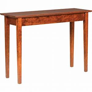 Shaker Sofa Table - Amish Crafted Furniture