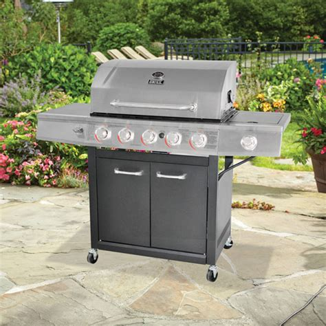 backyard grill 5 burner propane gas grill 200 32