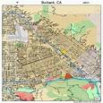 Burbank California Street Map 0608954