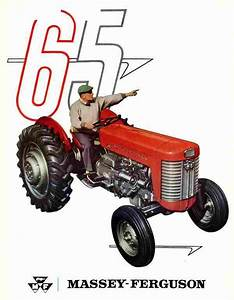 Massey Ferguson 50  U0026 65 Tractor Repair Service Manual For Sale