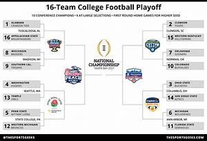 16-Team College Football Playoff Bracket   The Sports Geeks