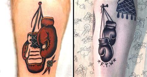 8 Fight Worthy Boxing Gloves Tattoos | Tattoodo