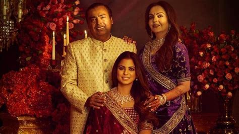 mukesh  nita ambani immortalise daughter ishas wedding
