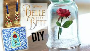 DIY Deco Chambre Facile DISNEY La Belle Et La Bte