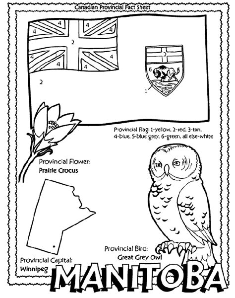canadian province manitoba coloring page crayolacom