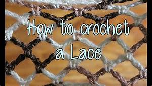 How To Basic : how to crochet a basic lace crochet lessons youtube ~ Buech-reservation.com Haus und Dekorationen
