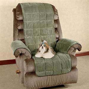 microplush pet furniture cover recliner wing chair touch With furniture pet covers for recliners