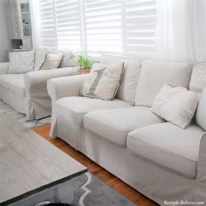 Ektorp Sofa Ikea : my new ikea ektorp sofa covers in lofallet beige ~ Watch28wear.com Haus und Dekorationen
