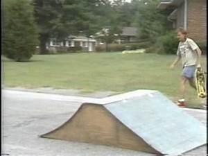 MINI RAMP JAM Old School Skateboard SC 1987 + Jump Ramp ...