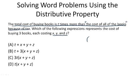 when to use the distributive property ck 12 foundation