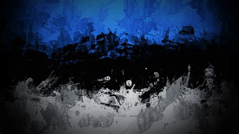 Abstract Black White Blue abstract blue black white colorful estonia