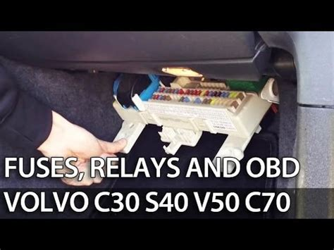 Fuse Box For 2008 Volvo C30 by S40 I 1995 2004