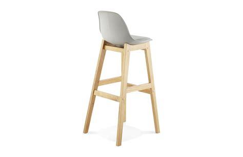 tabouret cuisine bois chaise bar pied bois cuisine en image