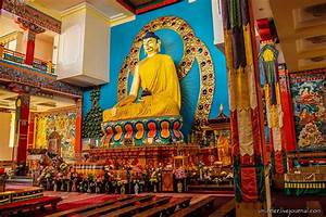 Buddhist Temple In Elista  U2013 One Of The Largest In Europe