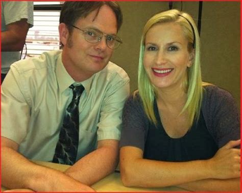 Dwight And Angela From