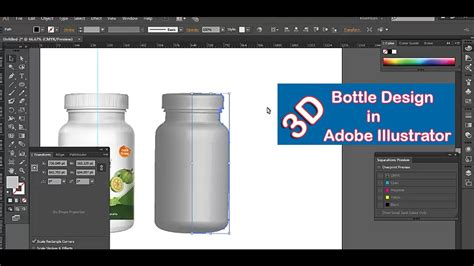 create  bottle  adobe illustrator adobe