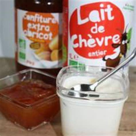 recette bio de yaourts au lait de ch 232 vre et confiture sans yaourti 232 re