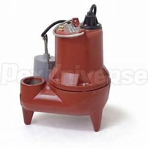 Liberty Pumps Le41a Automatic Sewage Pump