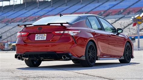 toyota camry trd drives    expected