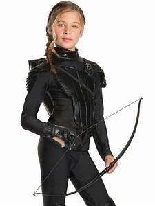 Girls Katniss Everdeen Rebel Archer Glove Fancy Dress ...