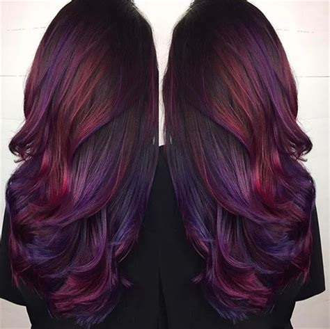 Hair Colors Gallery by With Purple Image Gallery Of Gorgeous Purple Hair