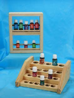 wooden essential oil holder display rack images