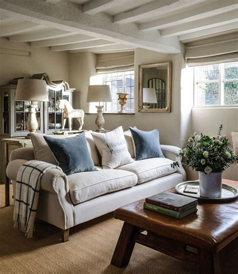 Cottage Ideas by Homes Antiques Jason Ingram Soft Corners Chalky