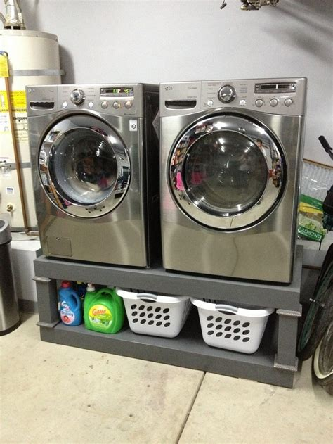 pedestal for washer and dryer washing machine and dryer pedestal diy projects for