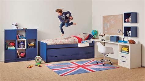 lit gigogne avec bureau chambre enfant bahia movil avec bureau et rangement