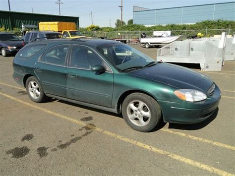 ford taurus station wagon mpg