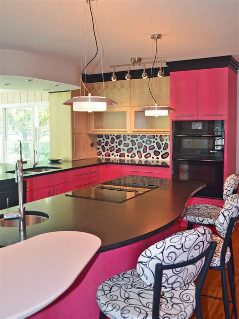 colorful kitchen design ideas  hgtv kitchen ideas