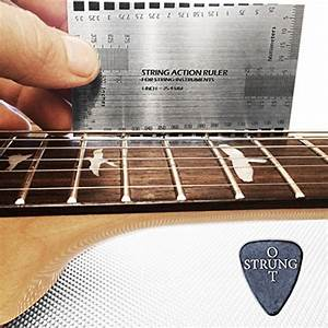 Double Sided Multi Function String Action  U0026 Guitar Set Up