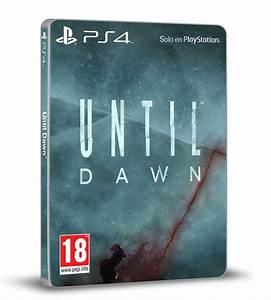 PS4 Exclusive Until Dawn Gets Amazing Box Art  Until