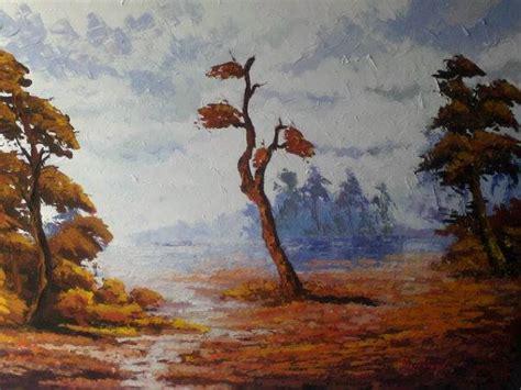 lukisan souvenir minimalis sejak