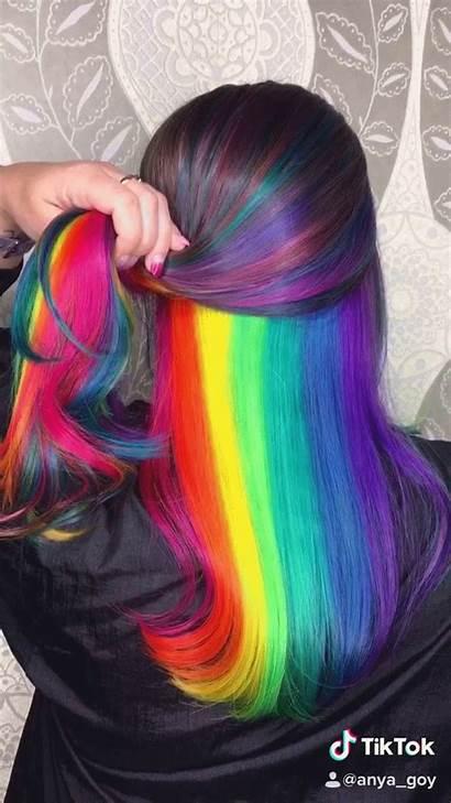 Rainbow Hidden Tiktok Anya Trends Peekaboo Cool
