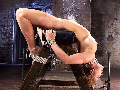 Hot Blonde Milf Suffers Through Grueling Bondage Cherie