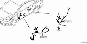 Nissan Sentra Harness Sub  Bumper   Front