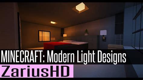 minecraft modern light designs  lorddakr youtube