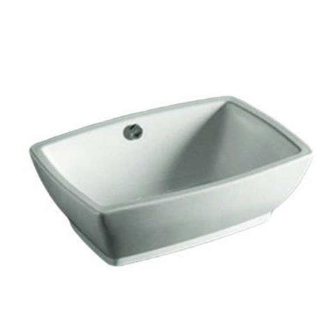 home depot white vessel sink whitehaus collection isabella vessel sink in white