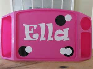 items similar to personalized custom lap tray childrens