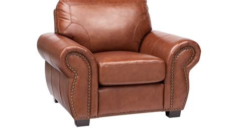 balencia light brown leather chair traditional