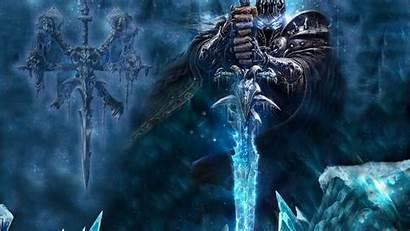 Arthas Warcraft King Lich Throne Frozen