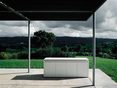cucina da esterno in corian 174 k2 outdoor by boffi design
