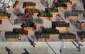Em Detalhe: Mobiliário Urbano do Projeto LentSpace / Interboro ArchDaily Brasil